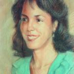 1988, LA HIJA DE ROSITA,pastel-carton,26x18