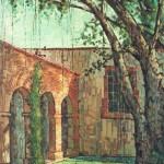 1988, RINCON COLONIAL, oleo-lienzo,50x35