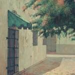 1989,CALLEJON DE LOS CURAS,oleo-lienzo,30x24