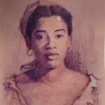 1990 ,DESCONOCIDO,acuarela,24x20
