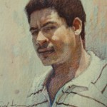 1990 ,DESCONOCIDO,pastel-carton,28x20