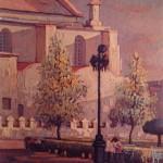 1992, PARQUE COLON,oleo-lienzo,40x30