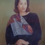 1994, DONA MINERVA,oleo-lienzo,45x35
