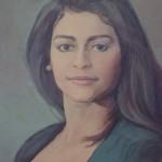 1994 ,ROSA MARIA ABRAHAM(detalle) oleo-lienzo,36x28,