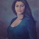 1994 ,ROSA MARIA ABRAHAM,oleo-lienzo,38x28