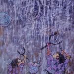 2000-Bajo lluvias de plata III,  42x18