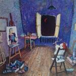 2001-Desde mi ventana III,   50x50