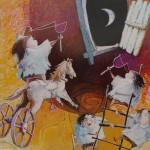 2002-Travesuras de mis nietos  II ,   40x60