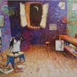 2003-Conversando con Picasso,   45x70