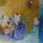 2003-Travesuras de mis nietos, 50x60