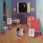 2006-Conversando con Van Gogh,40x40