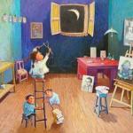 2009-Conversando con Picasso II, 40x60