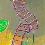 2011-Mi escalera y yo, 40x12