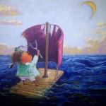 2011-Pescadora de suenos II,   16x16