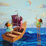 2011-Pescando quimeras,50x40