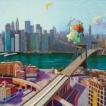 2011-Una brujita en nueva york ,50x40