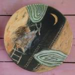 Tirapiedras (ceramica - 18x18) 2001